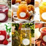 Etiquetas Adhesivas Personalizadas para Mermeladas y Potitos