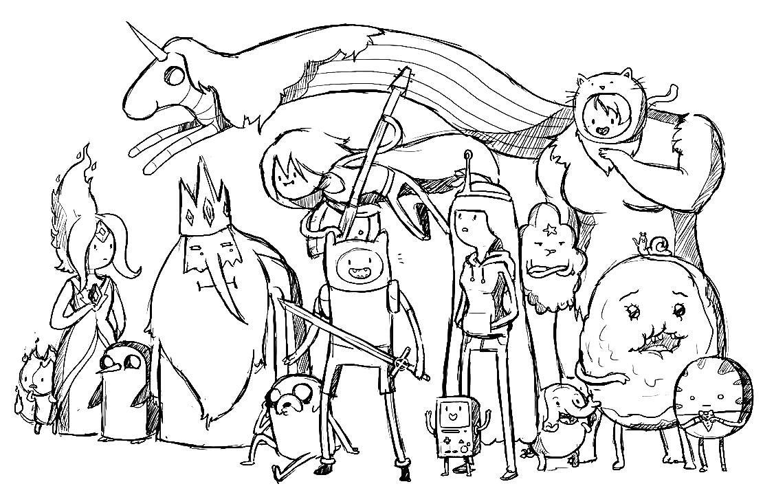 imagenes para colorear y crear cuentos dibujos para