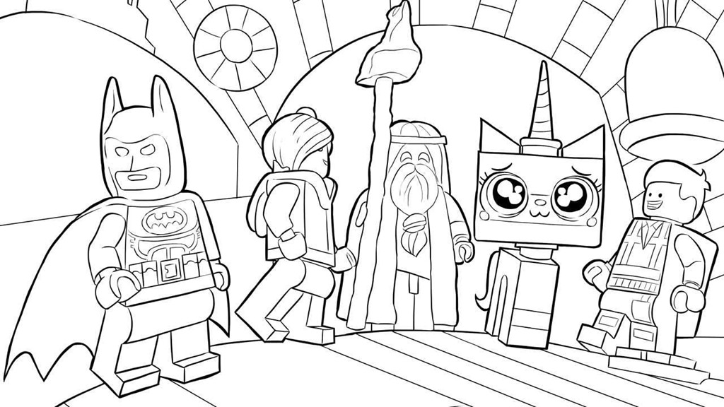 Printable Lego Movie Coloring Pages - Eskayalitim