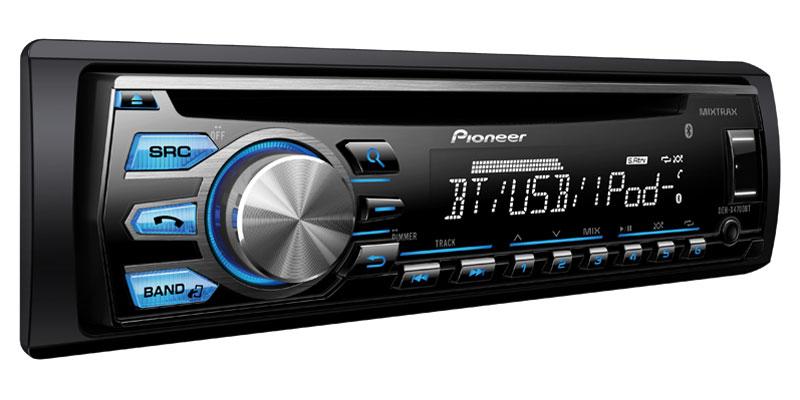 DEH-X4700BT - CD Receiver with MIXTRAX®, Bluetooth®, Siri® Eyes Free