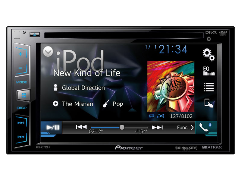 AVH-X2700BS - DVD Receiver with 62\