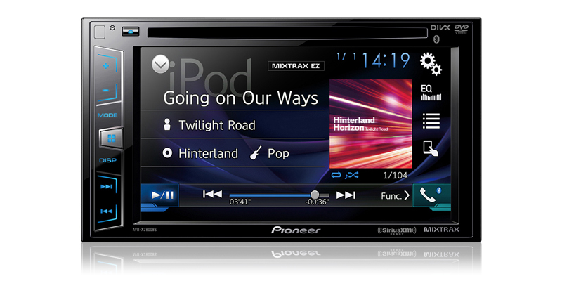 AVH-X2800BS - DVD Receiver with 62\