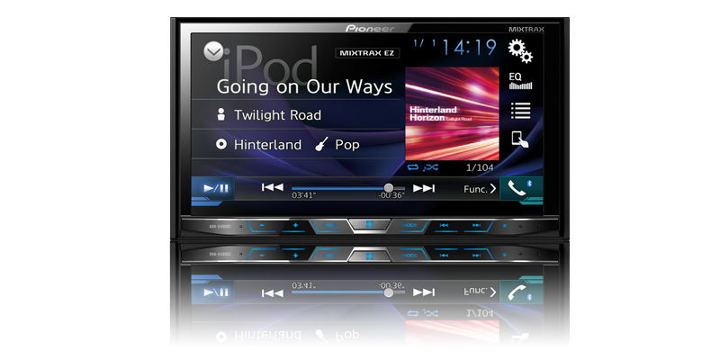 AVH-X490BS - Multimedia DVD Receiver with 7\