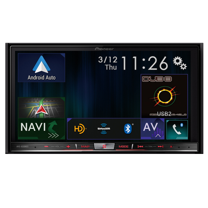 AVIC-8200NEX - Flagship In-Dash Navigation AV Receiver with 7\u201d WVGA