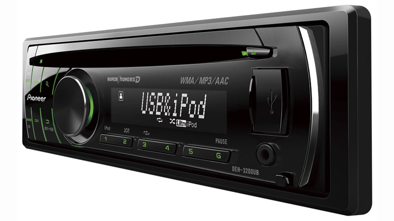 DEH-3200UB - CD Receiver with iPod® Direct Control and USB input