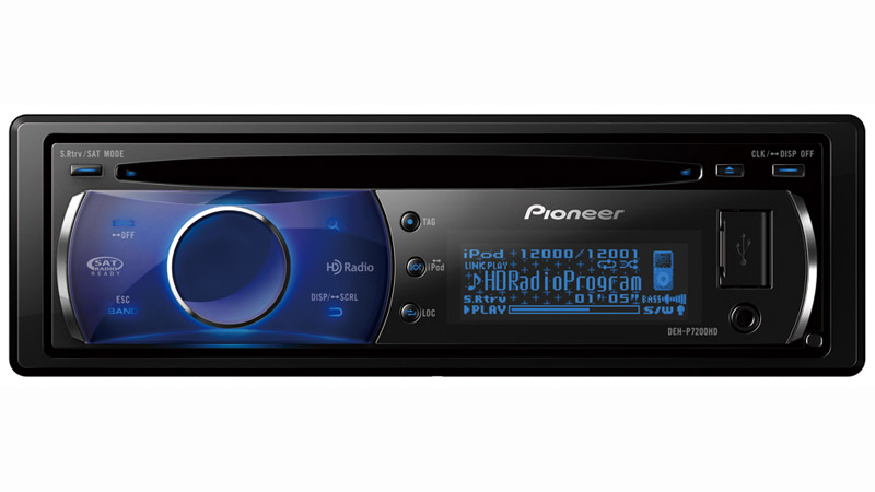 DEH-P7200HD - CD Receiver with HD Radio, Full Motion OEL Display and