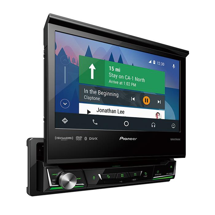 AVH-3400NEX - 1-DIN Multimedia DVD Receiver with 7\
