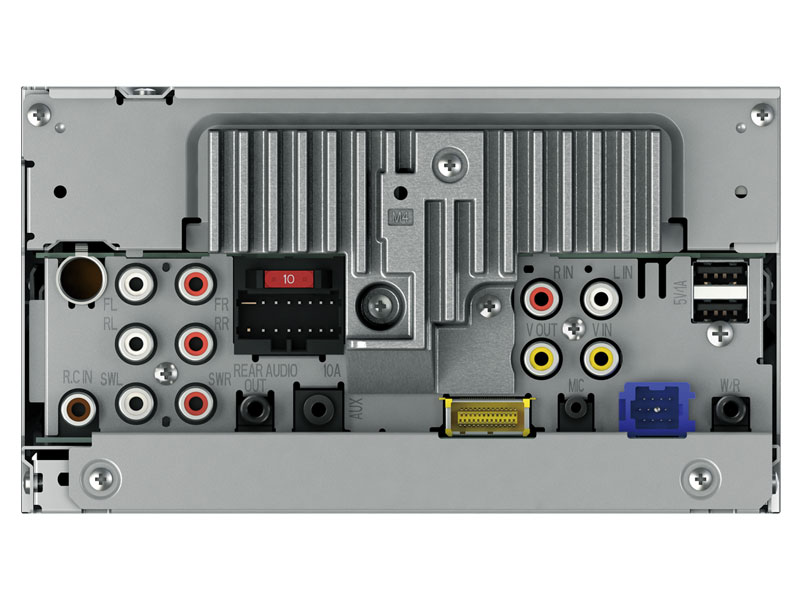 AVH-P8400BH - 2-DIN Multimedia DVD Receiver with 7\
