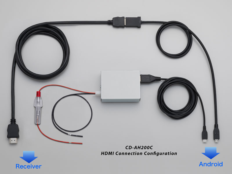 CD-AH200C - AppRadio Mode Android™ Connection Kit Pioneer