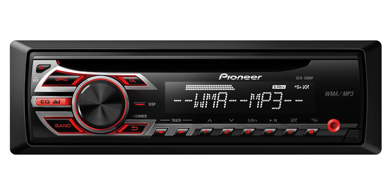 DEH-150MP - CD Receiver with MP3 Playback and Front AUX-In Pioneer