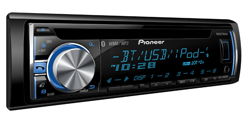 DEH-X6600BT - CD Receiver with MIXTRAX, Bluetooth®, USB Direct