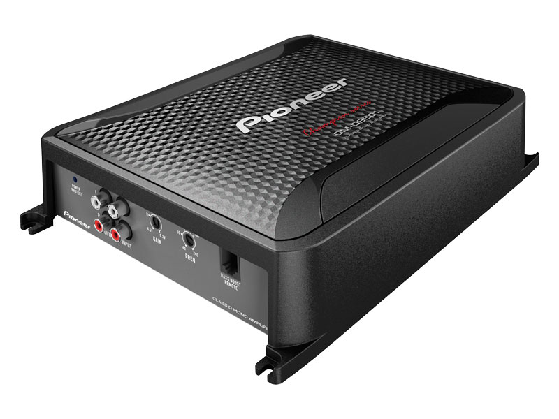 GM-D8601 - Class D Mono Amplifier with Wired Bass Boost Remote