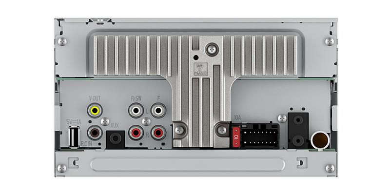 MVH-AV290BT - Multimedia Receiver with 62\