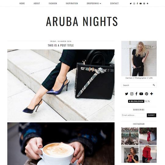 Professional Blogger Templates Stylish Blogspot Themes