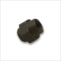Union Female/Female Black Malleable Iron Pipe Fitting