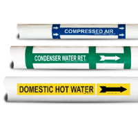 Pipe Markers, Pipe Labels, Custom Pipe Markers