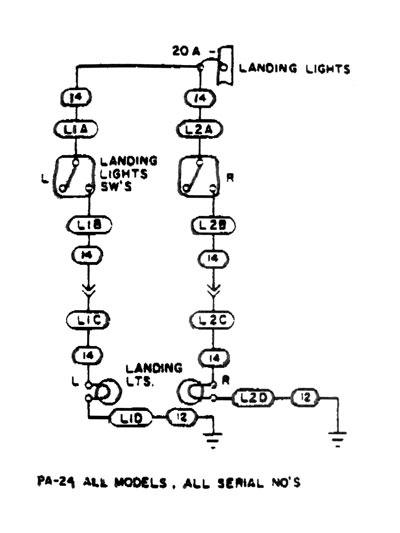 piper comanche wiring diagram