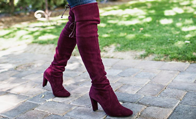 How To Wear Over The Knee Boots Pippa O39connor