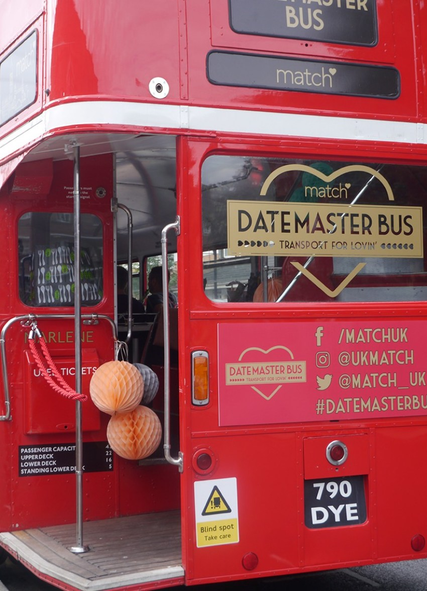 London bus styling and decor
