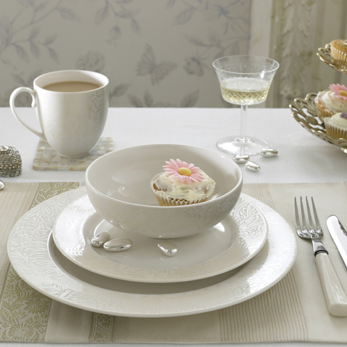 Lucille Gold 06 Placesetting, Denby for Monsoon Home