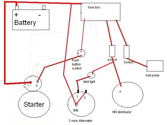 mad alternator wiring diagram