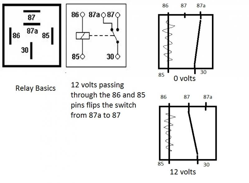 relay basic wiring diagrams
