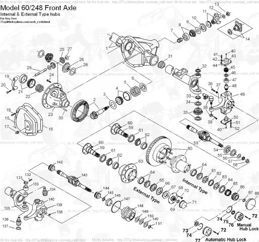ford f 250 super duty front axle parts diagram