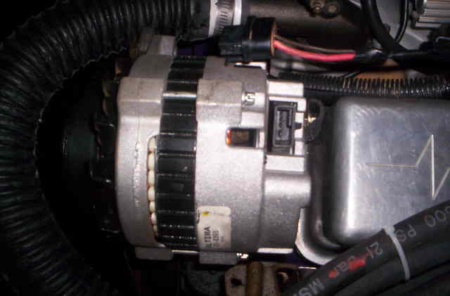 gm lt1 alternator wiring