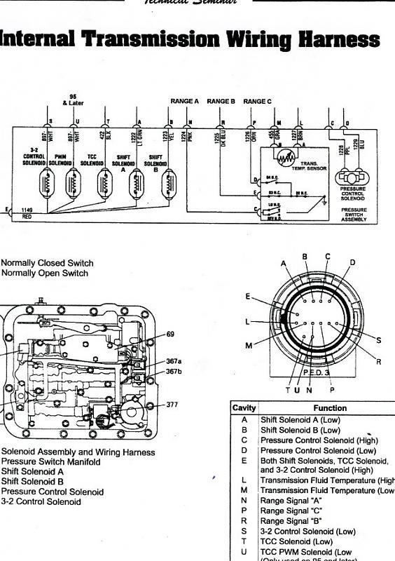 4l60 lock up wiring diagram