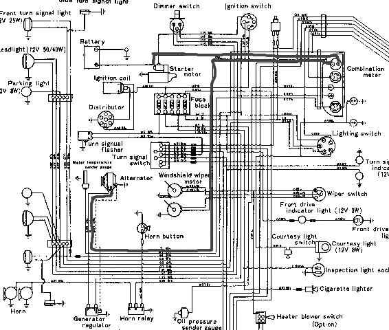 toyota 20r wiring diagram