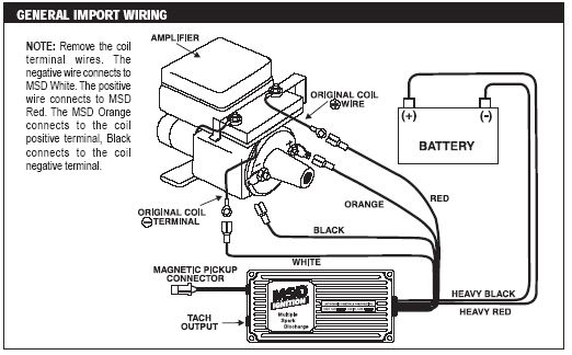 toyota ignition coil w igniter diagram