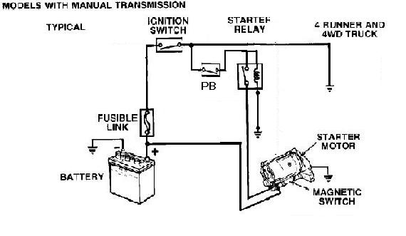 toyota push button start wiring diagram