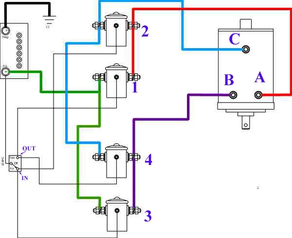 3 Wire Winch Motor Wiring Wiring Diagram