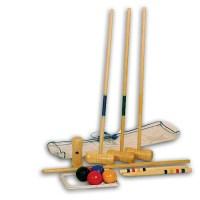 Krocketset fr Kinder aus Holz | Pirum-Holzspielzeuge.de