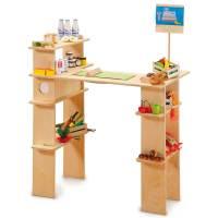 Erzi Shop Home - Kaufladen aus Holz | Pirum-Holzspielzeuge.de