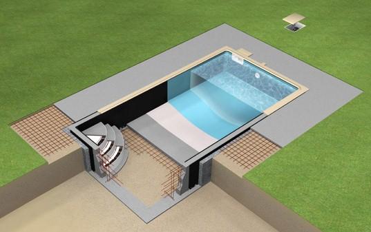 piscine en kit magiline magifirst ambiance piscines et spas. Black Bedroom Furniture Sets. Home Design Ideas