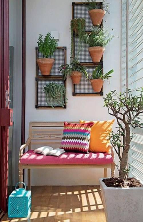 25 ideas para decorar un pequeño balcón o terraza - pisos Al día - Decoracion De Terrazas Con Plantas