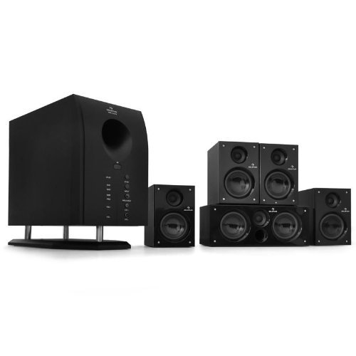 Technology Review: Auna 5.1 Surround Sound Active Speaker System 65W RMS