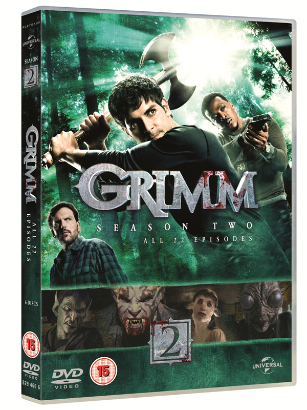 GRIMM S2 3D DVD packshot med res Television Review: Grimm   Season Two