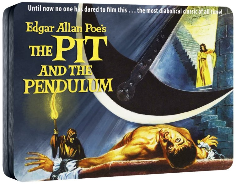 the theme of horror in the pit and the pendulum by edgar allan poe Edgar allan poe psychological horror stories like the pit and the pendulum and the tell-tale of poe's stories have a recurring theme of.