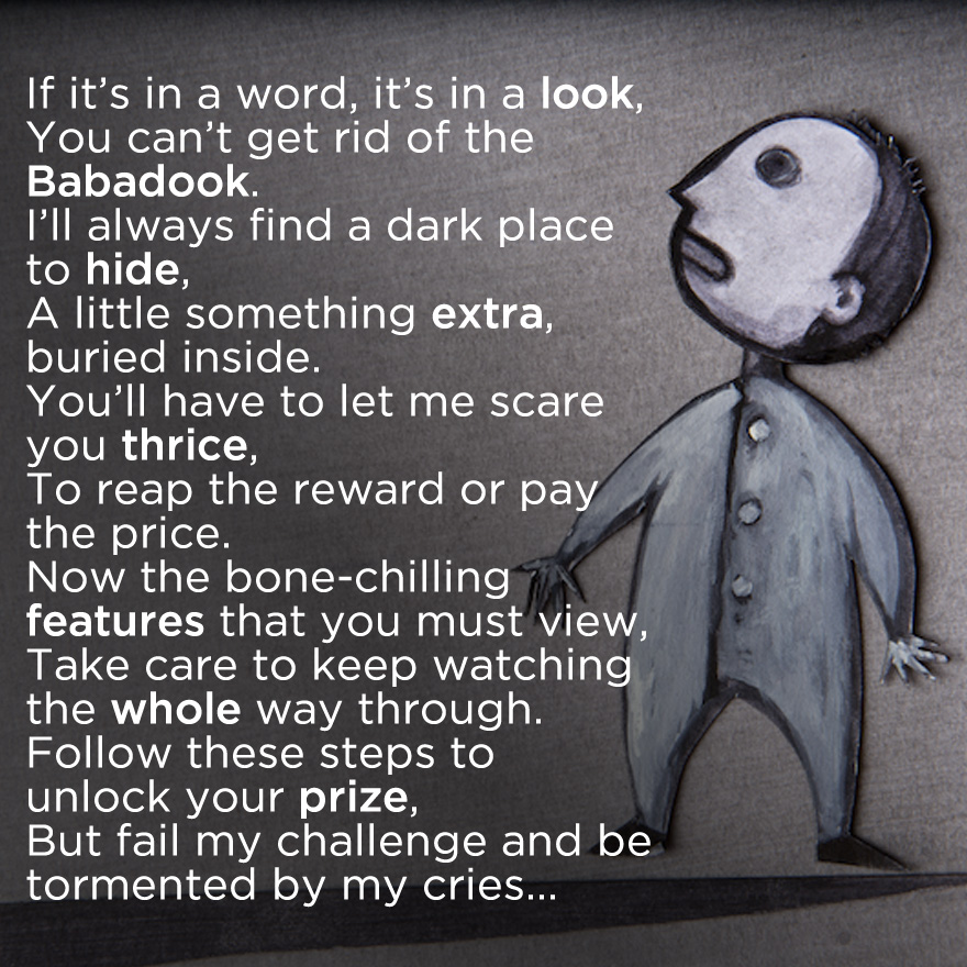 The Babadook - Mr Babadook has Hidden Something...