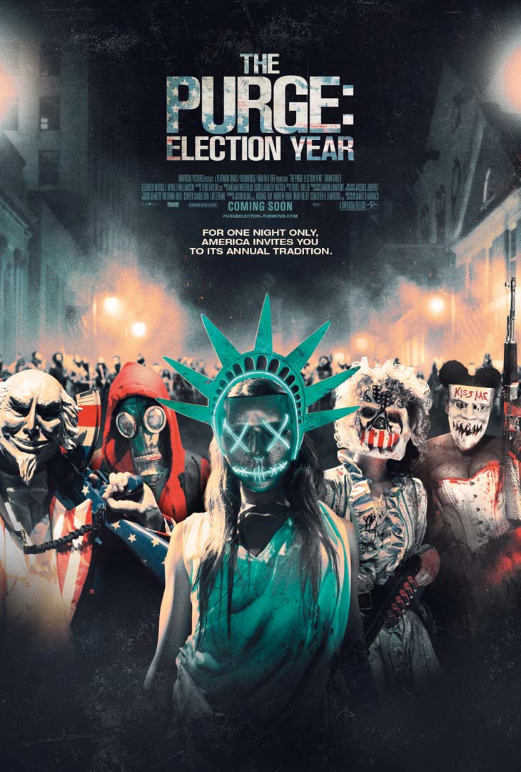 The Purge: Election Year Trailer and Posters Elects for Stylish Violence