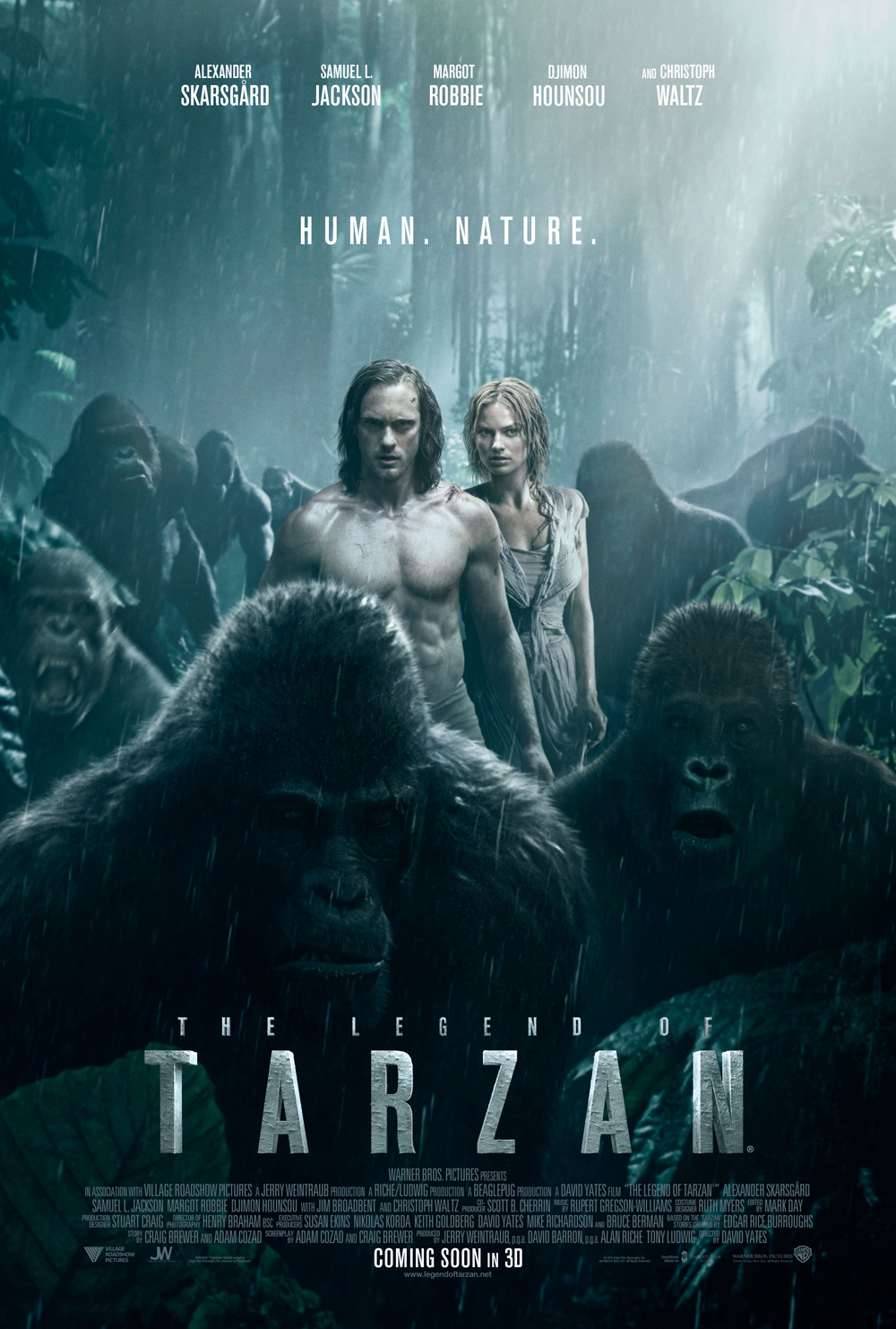 The Legend of Tarzan Gets a New Poster