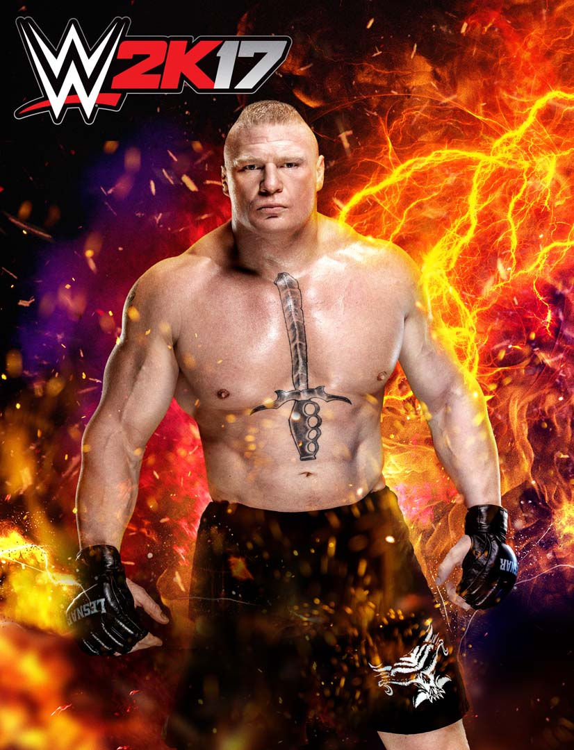 Brock Lesnar Confirmed as WWE 2K17 Cover Superstar