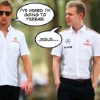 Jenson button misery