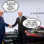 mclaren chandon sponsor