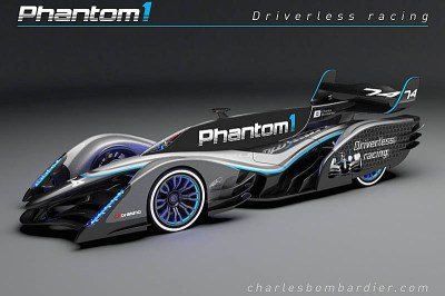 A vision of the future - the driverless race car - Pitpass.com