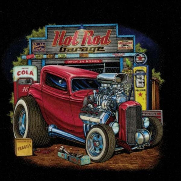 Classic Car Wallpaper Murals Hot Rod Garage