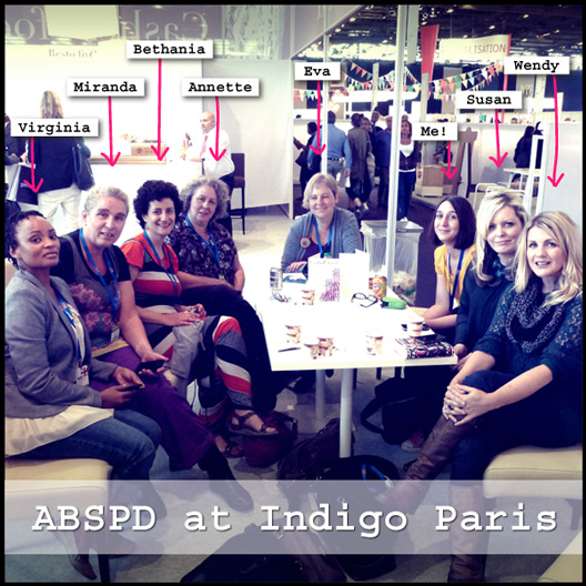 The Art & Business of Surface Pattern Design classmates at Indigo Paris | Pitter Pattern | Veronica Galbraith