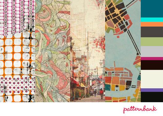 Patternbank Urban Metropolis Print Trend A/W 13/14